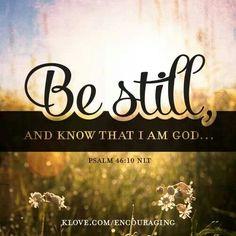 Psalm 46:10 ♥