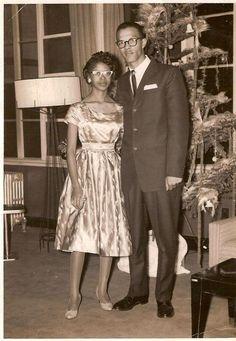 Tumblr     CultureSOUL: *Sepia Visions* The African Americans  Couples c. 1930s-1960s vintag black, afrikan amerikan, black classic