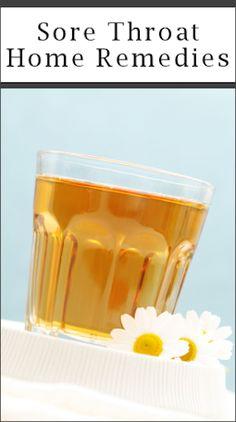 12 Sore Throat remedies