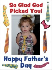 Father's Day Card - Girl