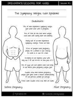 Pregnancy Lesson for Guys #3 - Sympathy Weight Gain