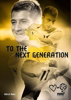 Marco Reus for Puma Football