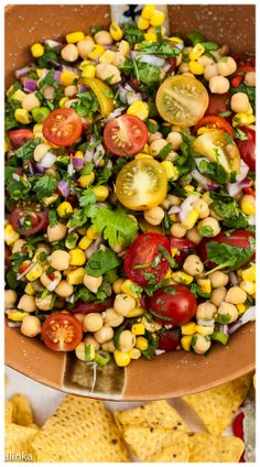 Serve it as a salad, side dish or a very chunky salsa-either way this dish is always a hit!