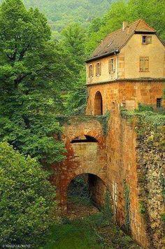 Double Bridge, Heidelberg, Germany
