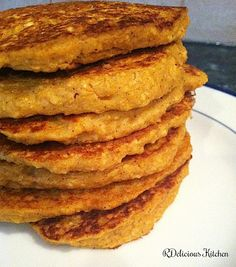 healthy pumpkin pancakes **