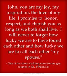 Wedding Vows And Readings On Pinterest