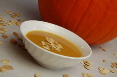 a simple {real food} :: pumpkin soup {dairy free option}
