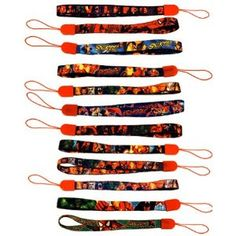 Set of 12 Superhero wrist bands