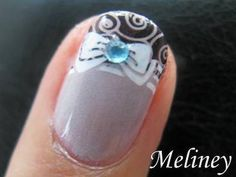 New Nail Art Ideas have been published on Wooden Bling http://blog.woodenbling.com/konad-stamping-nail-art-princess-bow-nails-pretty-french-tip-manicure-design-for-short-nails/.  #nailart  #nails #fingernails #Manicure #FashionAccessories #fashion #Fashionstyle #bling #swag