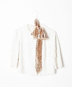 ban.do sequin scarf | perfect party wear