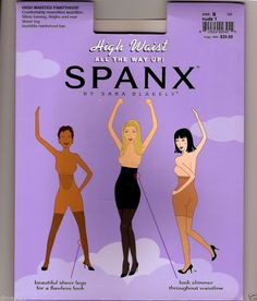 SPANX * HIGH WAIST  SUPER CONTROL Full Length Hose *All the Way Up #SPANX #Pantyhose