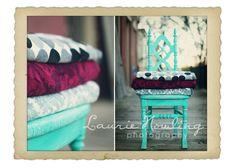 Blankets as Backdrops