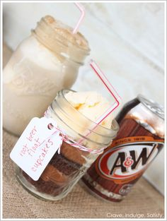root beer floats, yummi sweet, cupcake recipes, roots, church bake sale