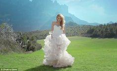 Shakira - Empire - Wedding Dress 2