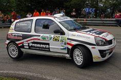 Renault Clio Sport, Alberto Ordóñez, 2012