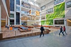 AirBNB Office Headquarters in San Francisco, CA | Modern Corporate Office Interior Design