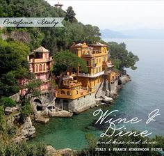Portofino, Italy -- has anyone ever been? We'd love to visit!