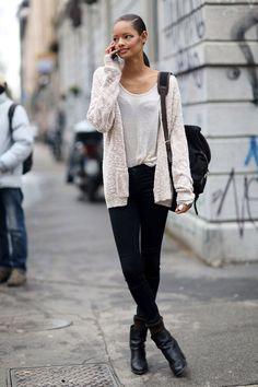 malaika firth, street style, 13 printemp, fall winter