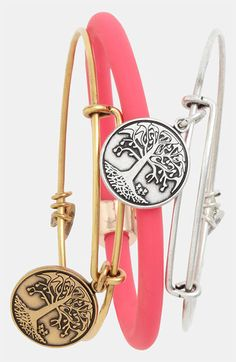Alex and Ani 'Tree of Life' Expandable Wire Bangle | Nordstrom