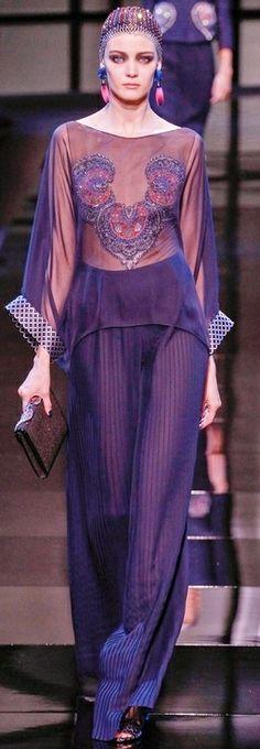 Giorgio Armani Haute Couture ~ SS 2014 Paris