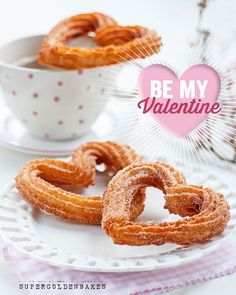Heart Shaped Churros