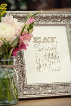 great wedding sign