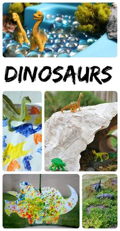 Great collection of dinosaur ideas for the kiddos!