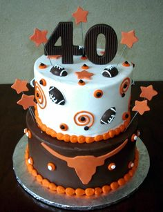 longhorns cake