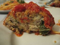 Beef Meatloaf with Homemade Tomato Sauce Recipe. Paleo ground beef recipe, vegetables, herbs, spices, gluten & dairy recipe.