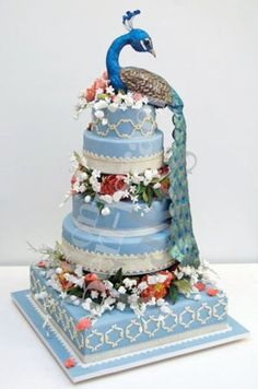Ron-Ben-Israel-Peacock-Cake.