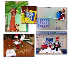 Elf on my Classroom Shelf!