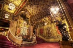 Los Angeles Theater Lobby, Downtown Los Angeles, CA #movies #theaters
