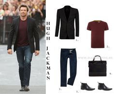 Get the look of Hugh Jackman - AllShopping
