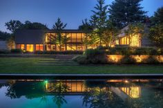 by Ziger/Snead Architects  Baltimore, MD  Woodvalley House - Exteriors