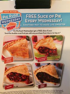 Free Slice Wednesday at Village Inn Restaurant