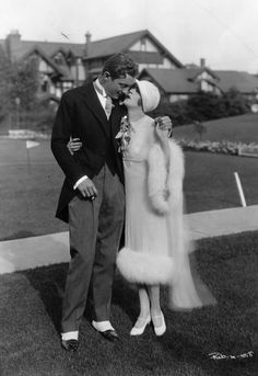 The 1926 wedding of Prince David Mdivani and actress Mae Murray (1889-1965).  They divorced in 1933.  His brothers Serge and Alexis, married actress Pola Negri and the heiress Barbara Hutton respectively.
