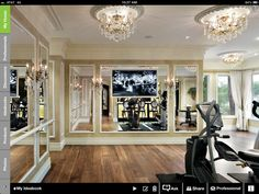 Dream workout room!