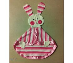Tutorial: Bunny security blanket  I had one when i was little!