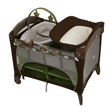 Graco Pack 'n Play with Newborn Napper Station DLX Play Yard - Roundabout