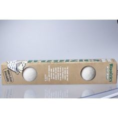 Woolzies Wool Dryer Ball, set of 6 ,Re-Usable Natural Fabric Softener