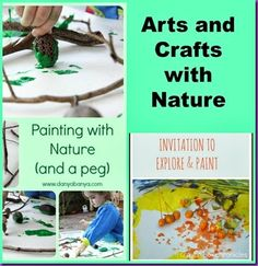 nature crafts!