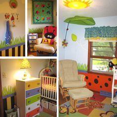 Bug 39 s life room on pinterest for Bug themed bedroom ideas