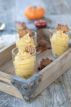 Pumpkin Pudding by D