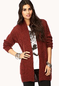 Favorite Open-Front Cardigan | FOREVER21 - 2000075125