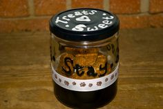Sit Stay Good Dog Adorable Treat Jar Filled With by 90DegreeAngle, $9.99