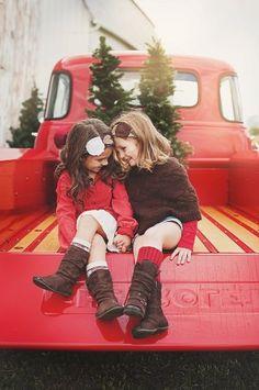 Christmas mini session @Crystal Chou Chou Chou Chou jackson ....Presley and Annabelle ; ) best friends