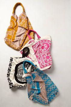 Monogram Knit Tote $108.00