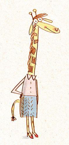 giraffe   Flickr - Photo Sharing! - Fred Blunt