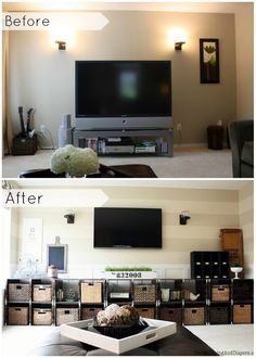 Industrial Family Room Makeover