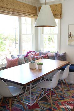 breakfast nooks, kitchen nook, dining nook, banquett, amber interior